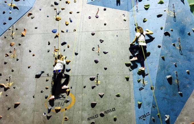 lezení na stěně