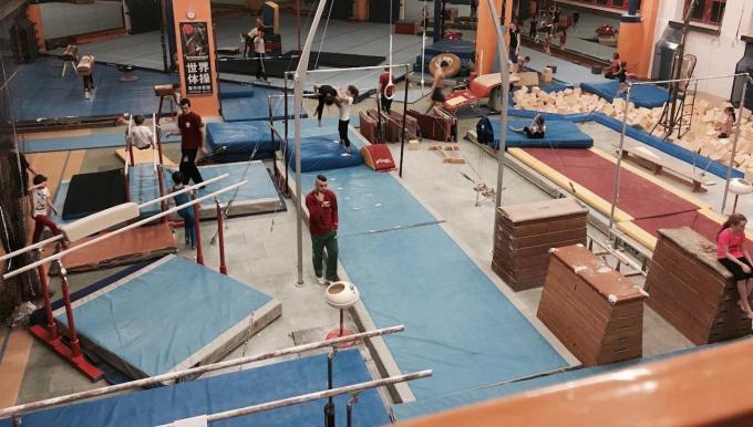 kurz gymnastiky na Dlabačově