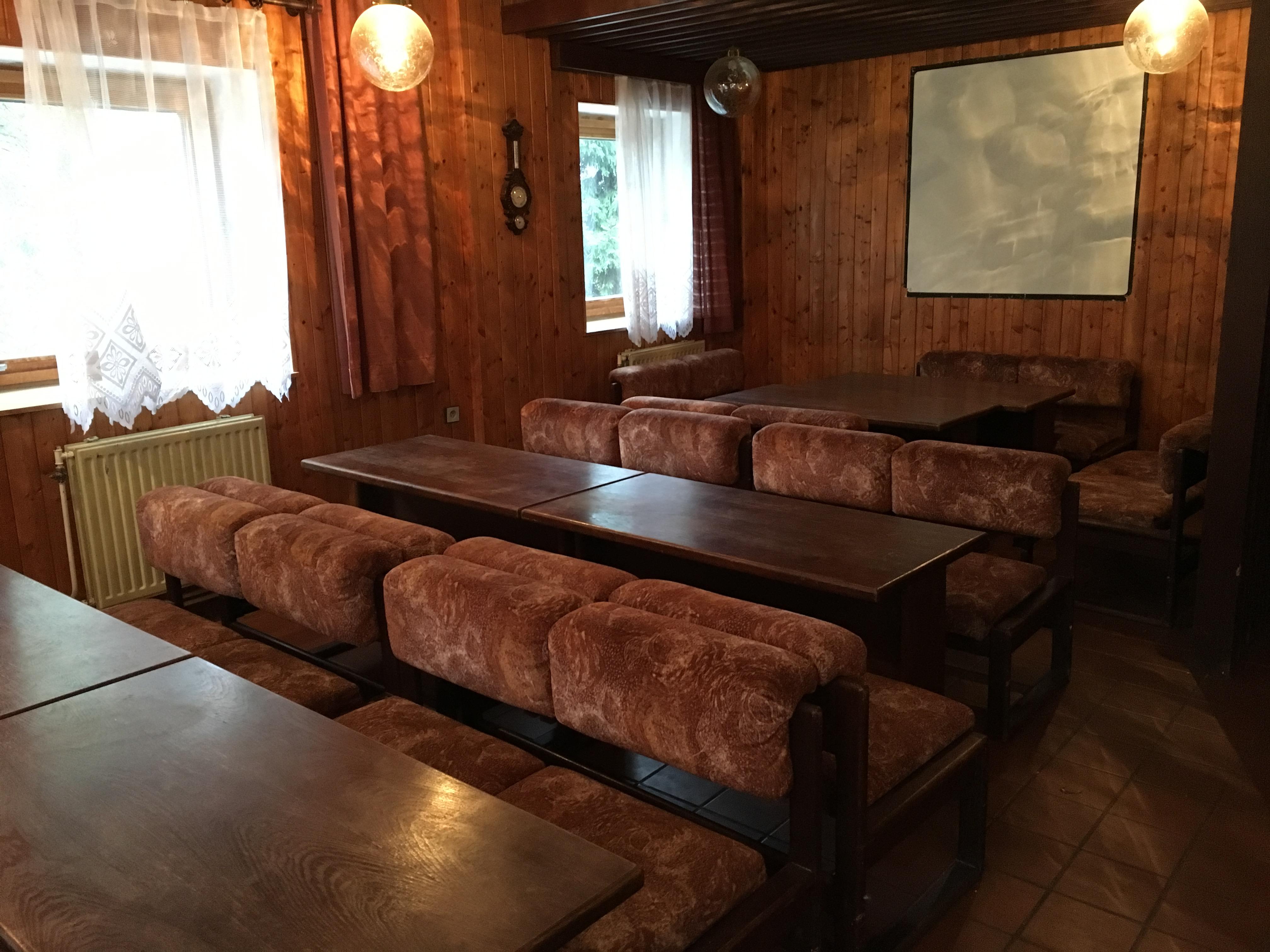 pension Čertovka - společenská místnost