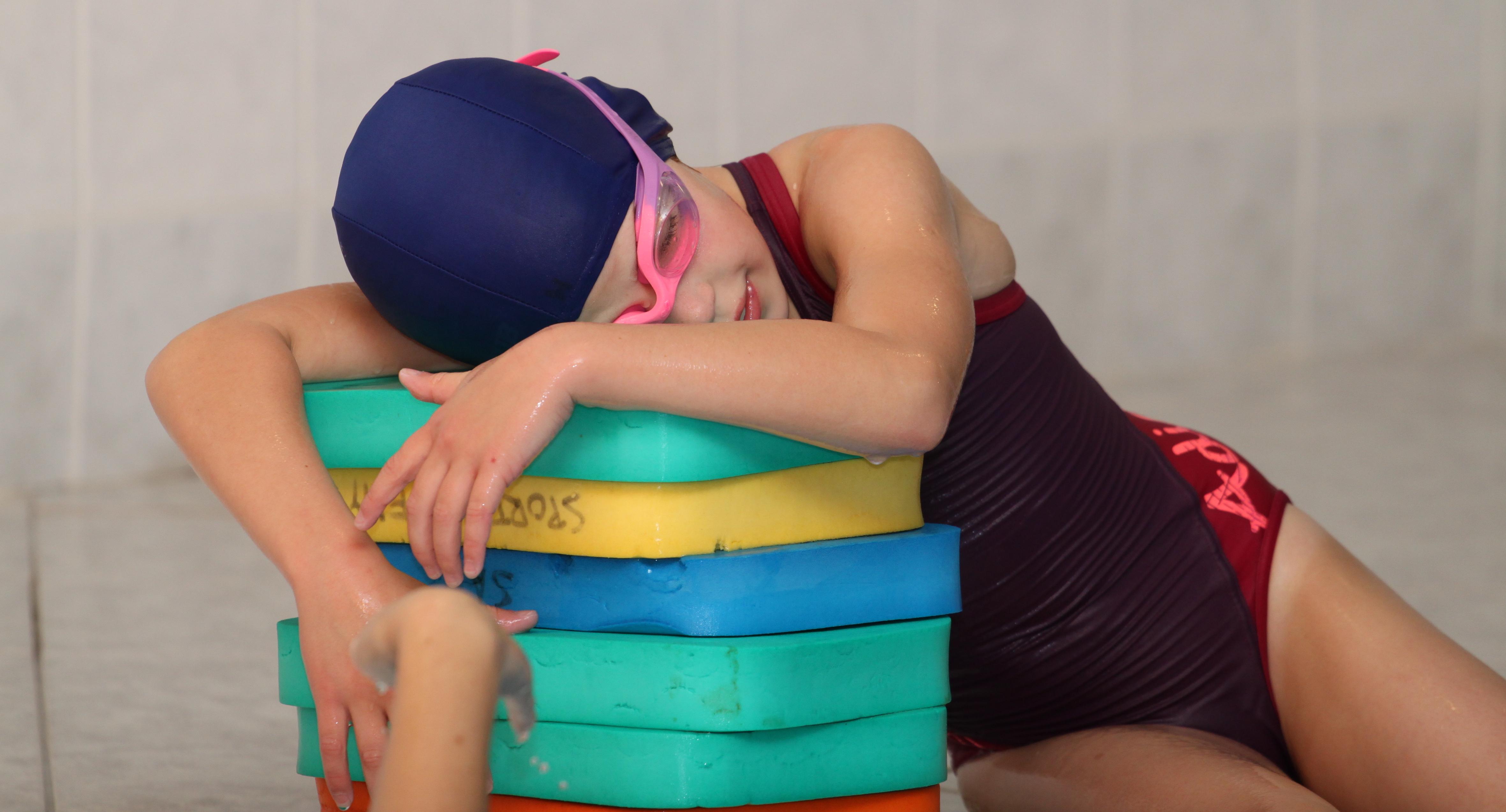 Aby dítě po plavání neonemocnělo