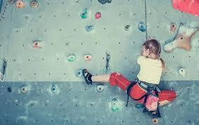 AKCE: lezení dětí a rodičů