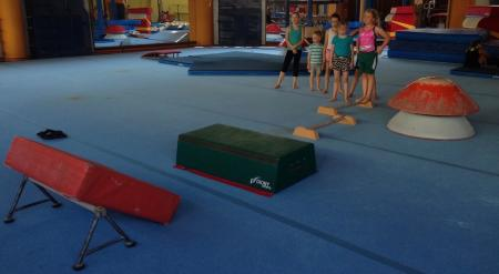 We practice gymnastics - healthy and fun