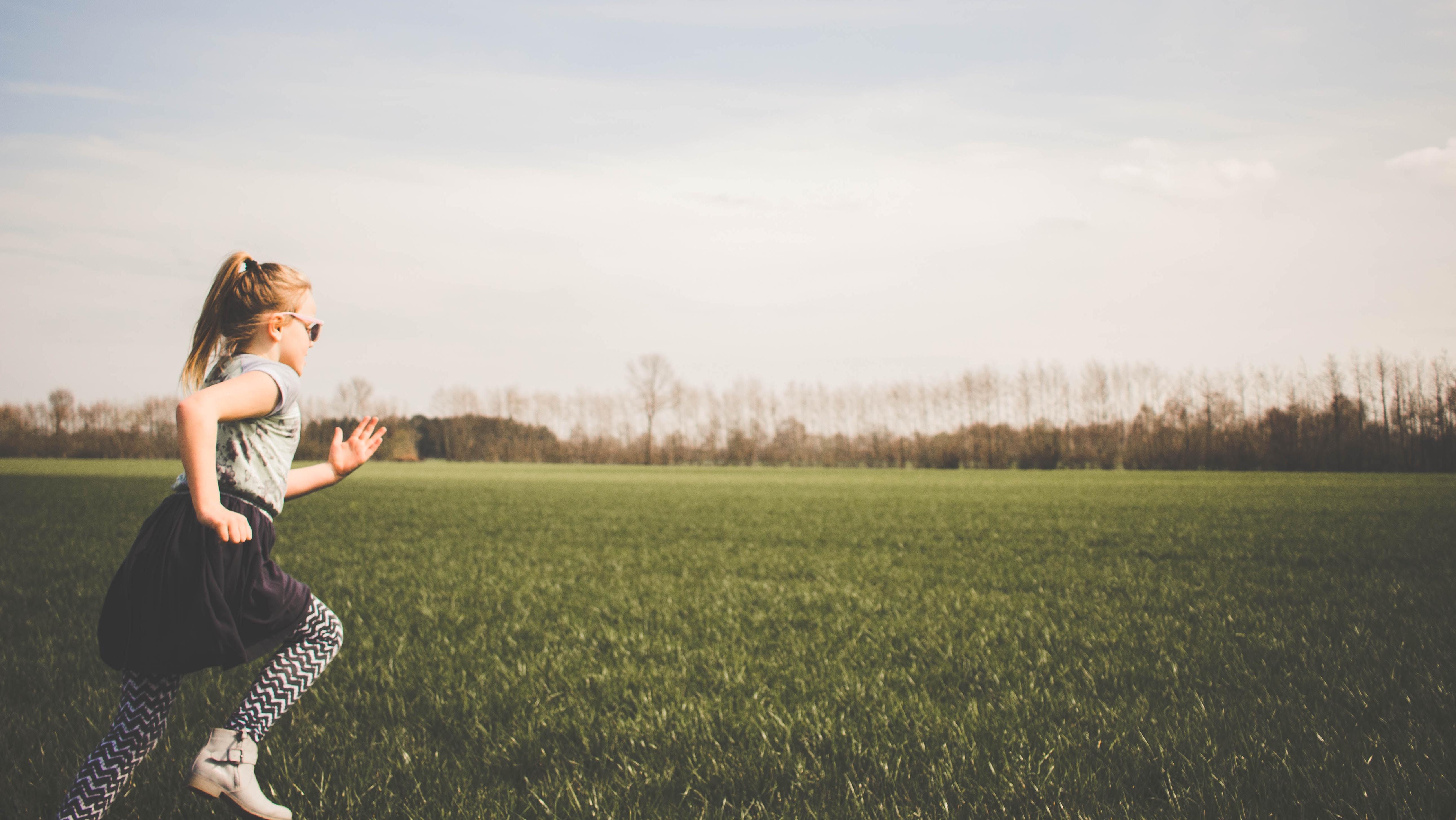 Atletika pro děti v přírodě