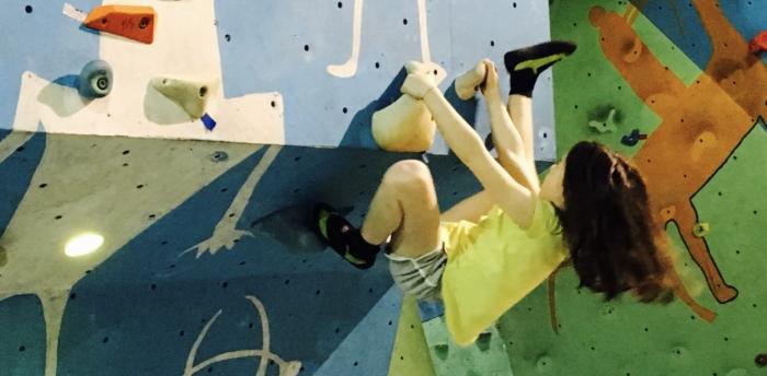 Sportovní lezení a hry na stěně