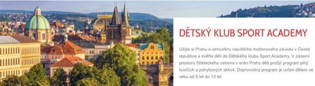 Dětský klub Sport Academy na Challenge Prague